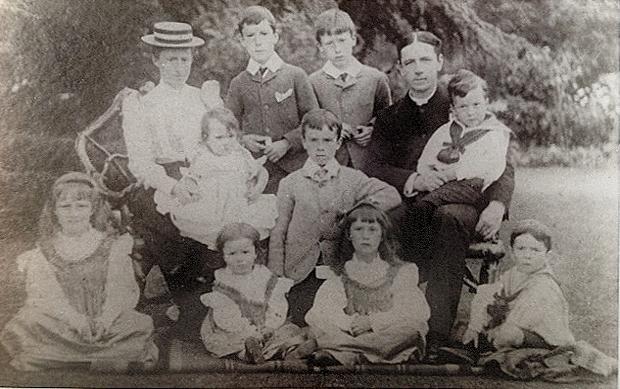 1892 - Berryman Family