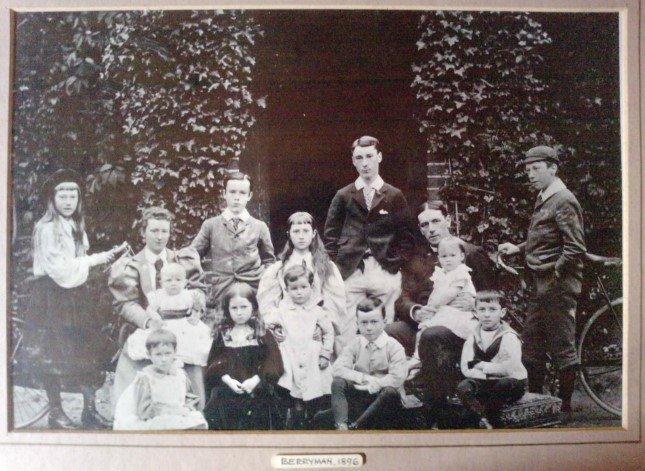The Berryman Family 1896