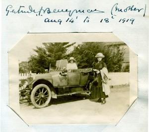 Gertrude Berryman in 1919