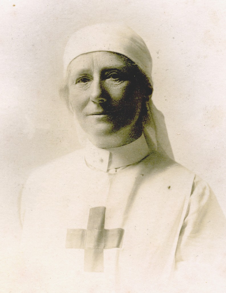 Gertrude in her Red Cross uniform