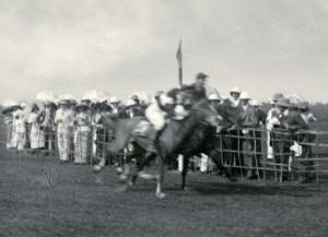 Richard Berryman winning a race