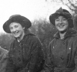 Nell Fielding and Jane Berryman, Autumn 1915