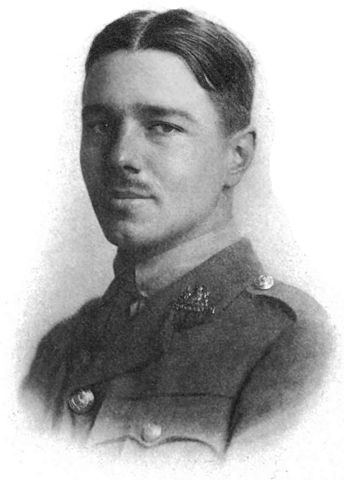 Wilfred Owen - Plate from the Poems