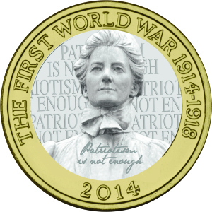 Edith Cavell Proposed Coin Design