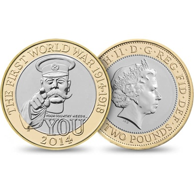 Kitchener Coin from Royal Mint
