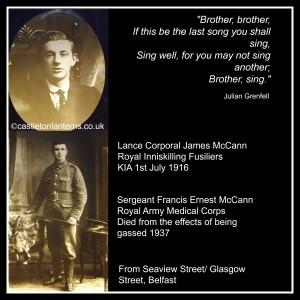 McCann Brothers, Castleton Lanterns