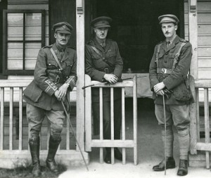 Ted (Centre) in 1915