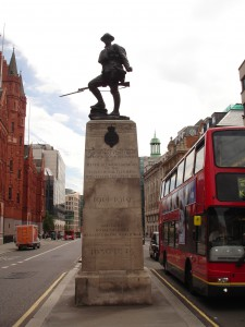 First World War Memorial, Holborn, London