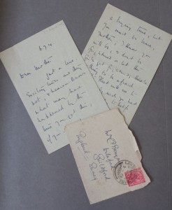 Ted's First Letter of the War