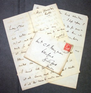 Paul's first letter of the war