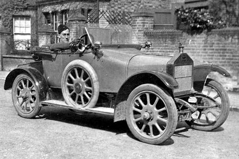 Dick Berryman c 1915