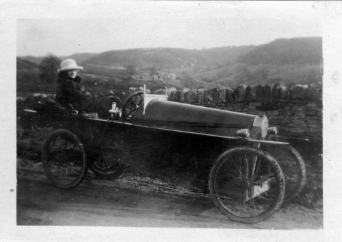 It's not clear if this is the car that Jack crashed, but it came from Nell's 1915 photograph album