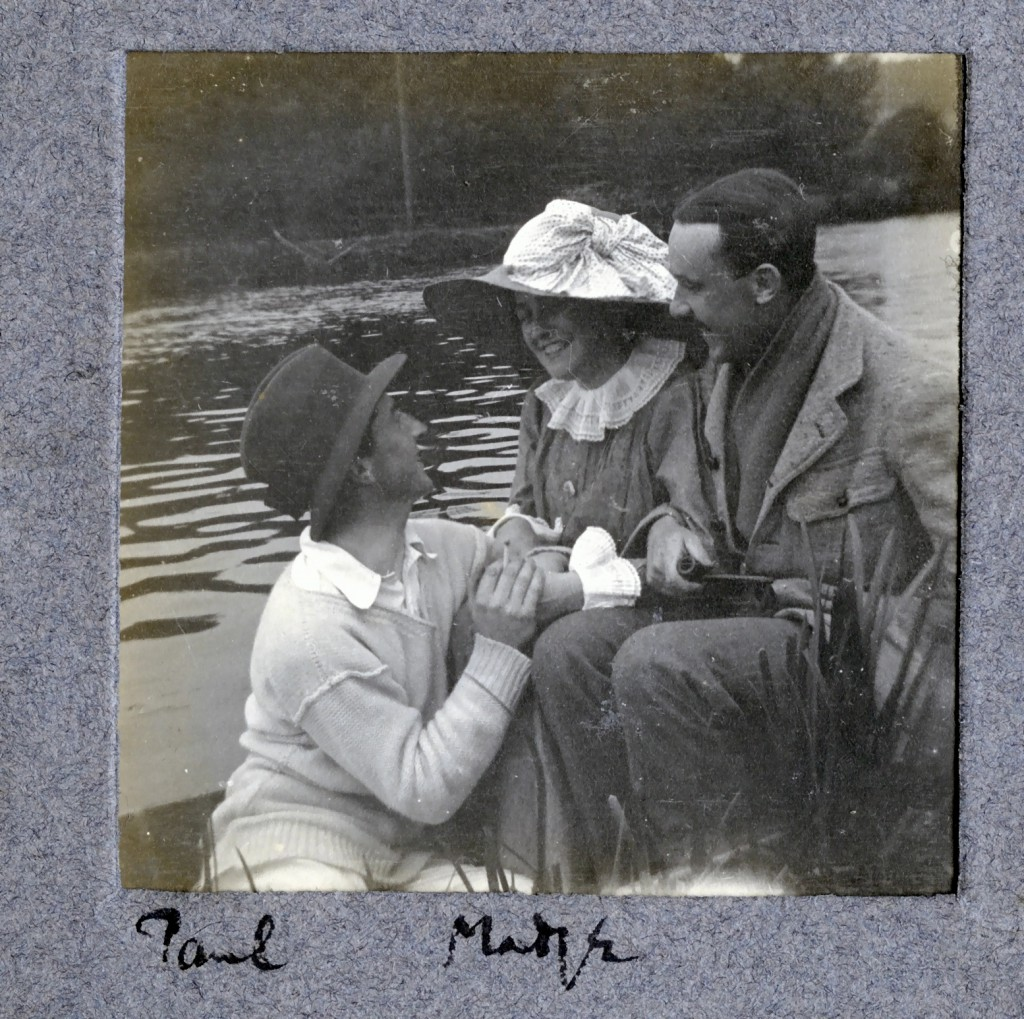 Paul Madge and Ted in 1910