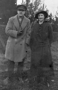 Ted and Nell - Autumn 1915