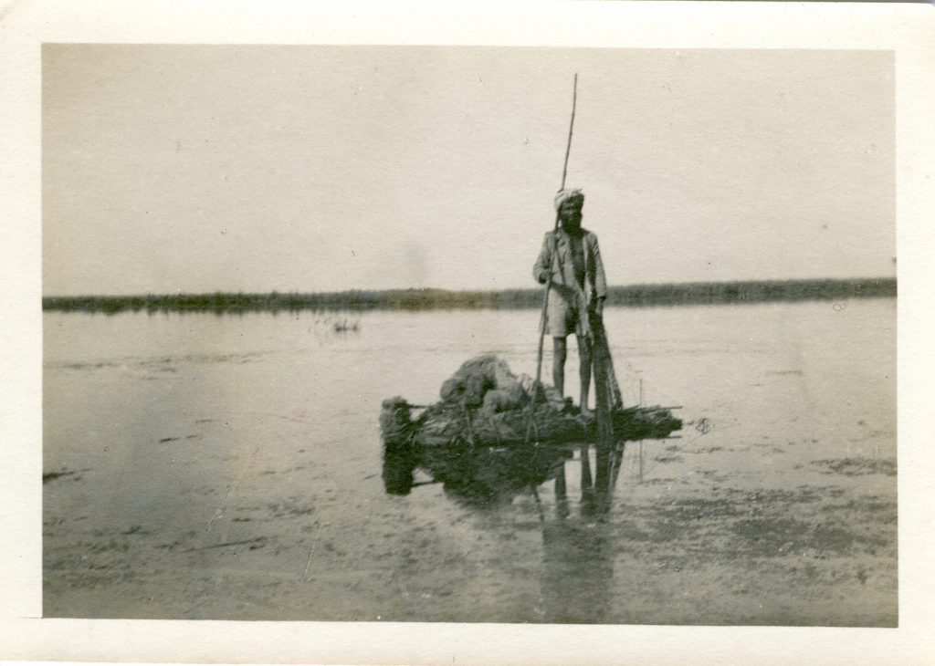 Uncaptioned Boatman, probably 1916 or 1917